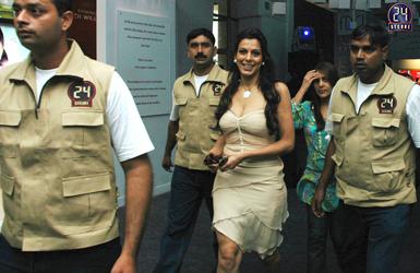 Security Detail for Actress Pooja Bedi